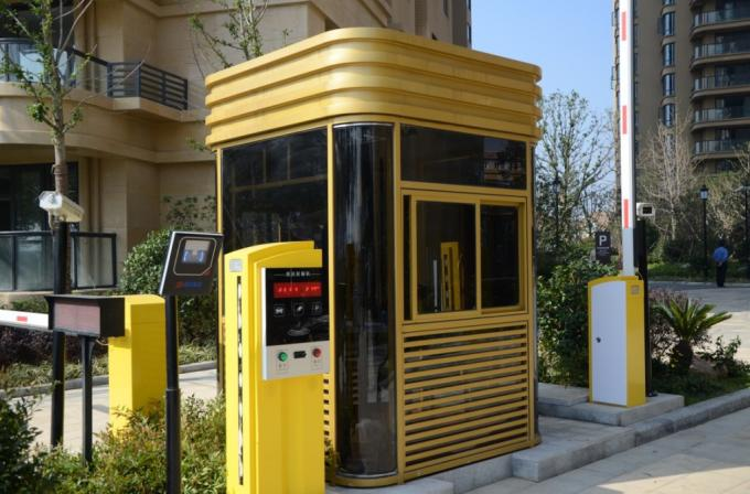 RS485 Communication Interface Car Park Ticket Machine for RFID Parking Ticketing System