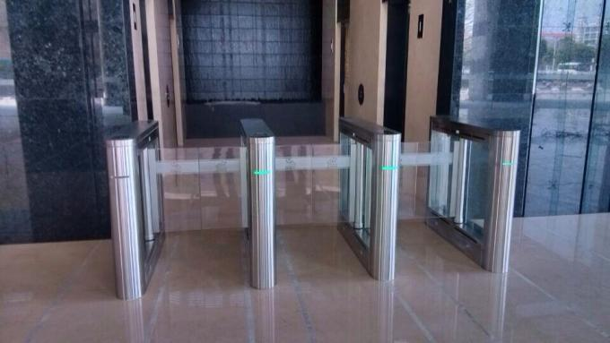 Fingerprint IC ID Card Security Gates Speed Access Gate For Building