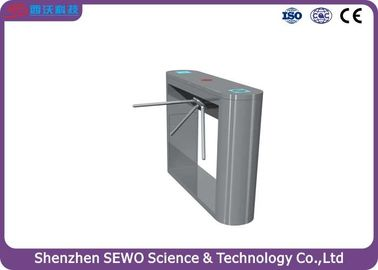 China 304# Stainless Steel Semi-automatic Tripod Turnstile Gate  Pedestrian Turnstile Gate system supplier