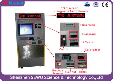 China Multi Language Automated Parking Payment Systems for Parking Management System supplier