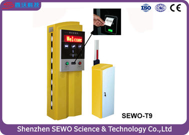 China Automatic Payment Car Parking Ticket Machine System with Patent Design supplier