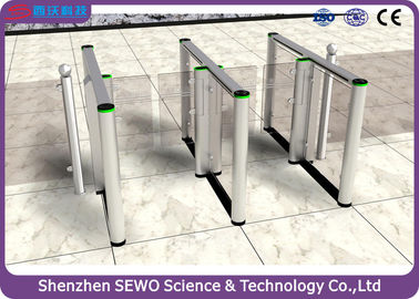 China Bi - directional Fast Speed 0.4s Barrier Turnstile with 304 Stainless Steel Material supplier