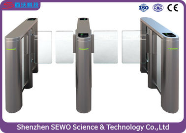 China IP65 Bi - direction Residential / train station turnstile security systems supplier