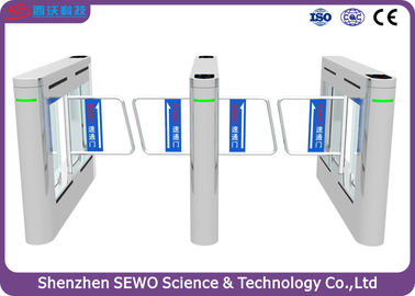 China Dual  RFID Smart Speed Swing Gate turnstile with 316 Sainless Steel Material supplier