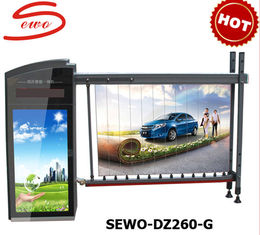 China Foldable Electronic Barrier Gate for advertisement supplier