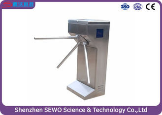 China Half-height Intelligent Fingerprint Tripod Turnstile for Metro Station, Office building supplier