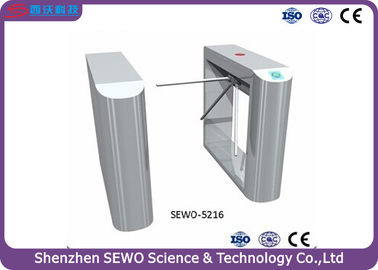 China Fully automatic Security Arm Barrier Turnstile with access control system supplier