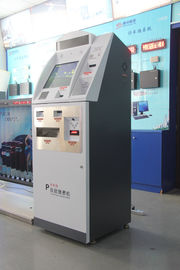 China Multi language Automated Parking Payment Systems Self Payment Kiosk Machine supplier