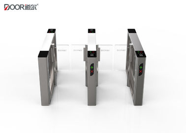 220V fast unlock time 0.2S waist high turnstile 304 stainless steel