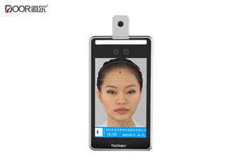 China 8 Inch Screen Face Recognition Access Control System With Fever Detecting factory