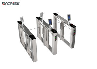 China Servo Motor Swing Barrier  Turnstile Entrance Gates With Face Recognition factory