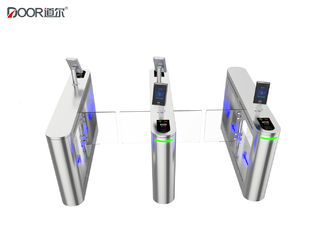 China Waterproof Outdoor Facial Recognition Turnstile 304/316 Stainless Steel Material factory