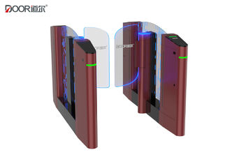 China Rfid Optical Face Recognition Access Control Turnstile Gate For Railway Station factory