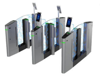 China High Durabilty Servo Motor Waist Height Turnstile Biometric Access Control factory