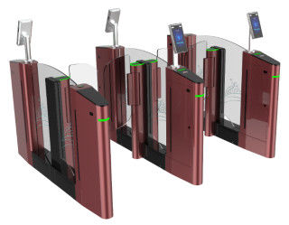 China App Debugging Speed Turnstile Barrier Gate With Three Color Selection factory