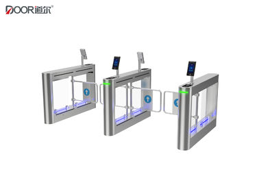 Waterproof Ip65 Facial Recognition Turnstile Access Control With Stailess Steel Arm