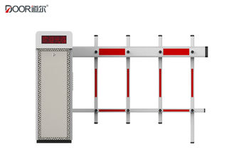 China 120W Car Barrier Gate Machine Core Safety Light Car Park Boom Gate With Control Board factory