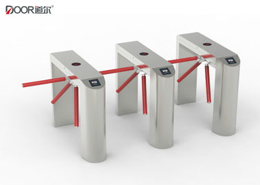 China 1200mm 3 Arm Tripod Turnstile Gate , Train Station Gate Rs485 Communication factory