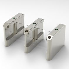 Dry Contact Signal Input Turnstile Security Systems Swing Gates Ip65  Rating