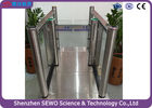 China Security Fingerprint  Access Gate Speed Gates For Pedestrian Control Management factory