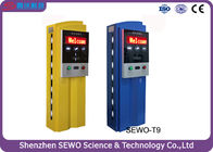 China Stainless Steel and Tempered Glass RFID Parking Ticket Machine factory