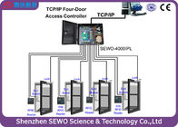 TCP and IP 4 Door  Access Controller  Multi Door RFID Gate Access Control System