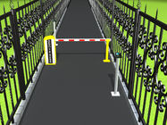 China Car Parking Access Control Automatic Boom Barrier Gate , vehicle barrier gates factory