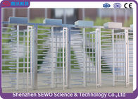 304 SUS Stainless Steel High Speed Security Revolving Doors Full Height Turnstile