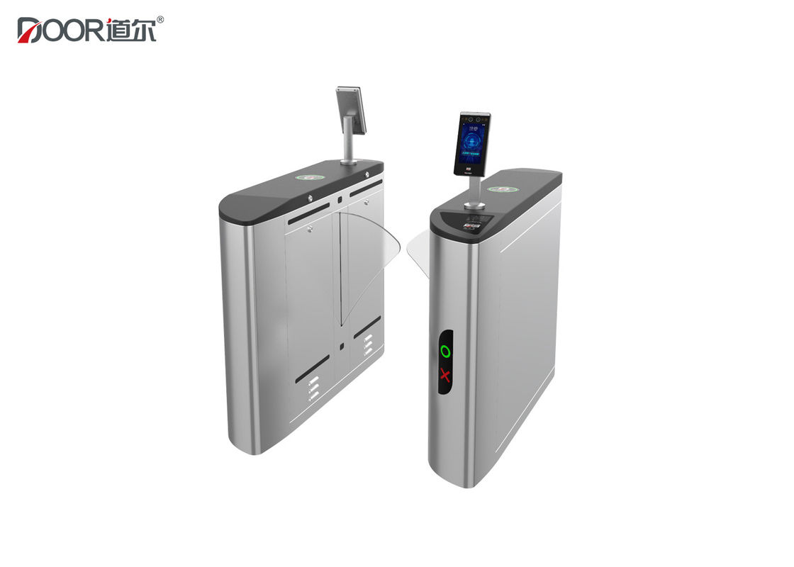 Intelligent Facial Recognition Turnstile Flap Access Controller Gate One Passager