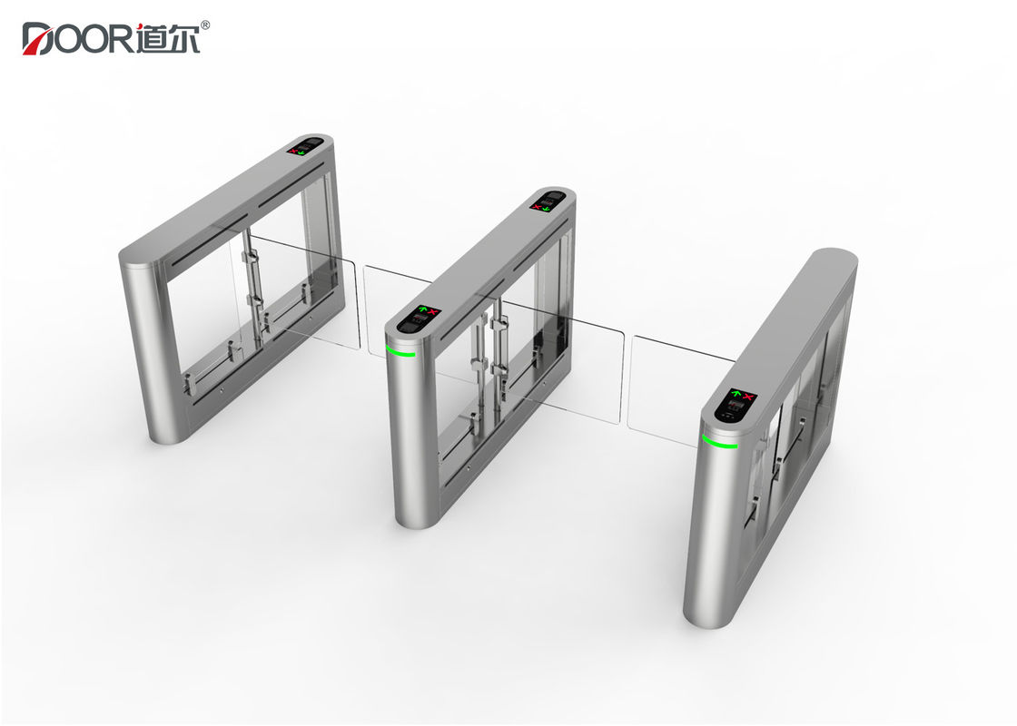Ac220v Security Card Swing Gate Turnstile Access Control System For Subway Station