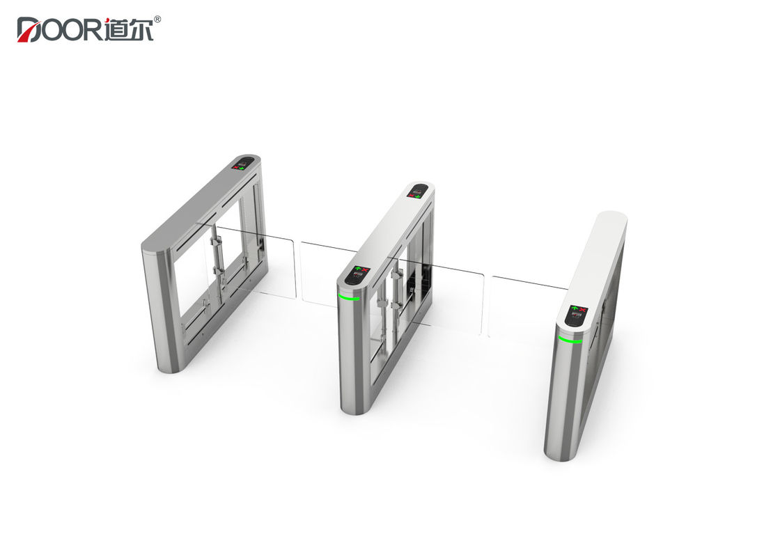 Fast Pass Speed Swing Gate Turnstile With High Level Waterproof Oem/Odm Acceptable