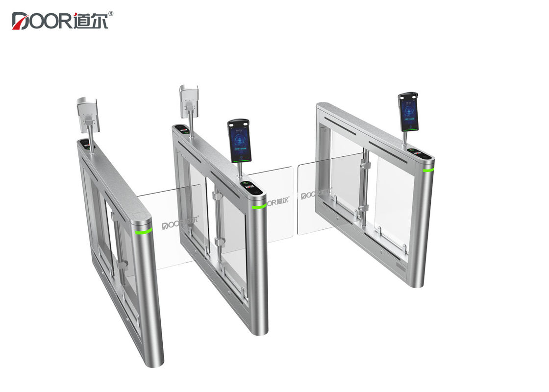 6 Sensors Pedestrian Swing Gate , Access Control Turnstile Gate Ce Certified supplier