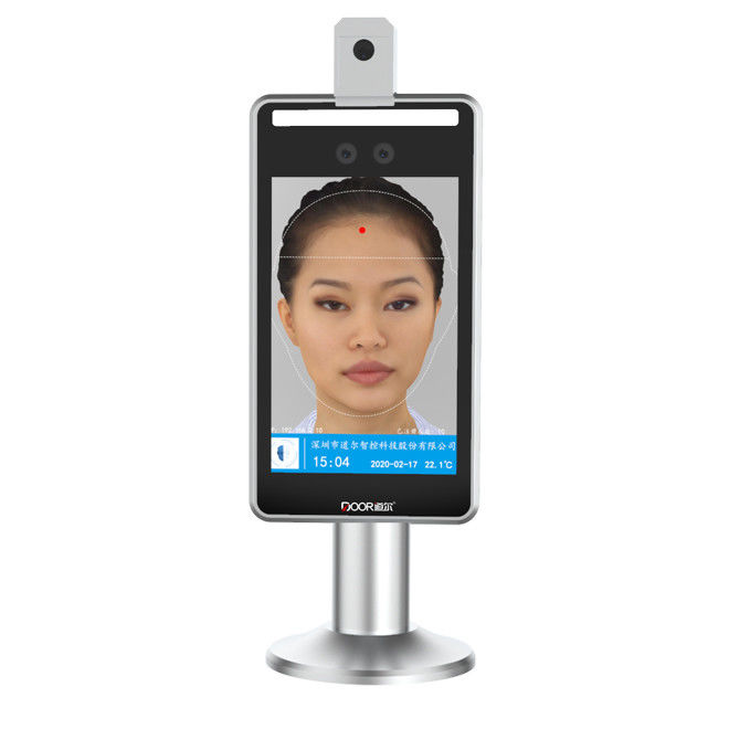 Temp Measuring Binocular Camera Face Recognition Terminal