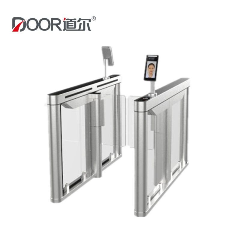 Temperature Detection IP24 Turnstile Barrier Gate Face Recognition