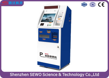 China Indoor and Outdoor Automated Parking Payment Systems with Self Payment Kiosk distributor