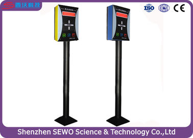 China Economical Smart RFID based paid car parking system , vehicle parking management system distributor