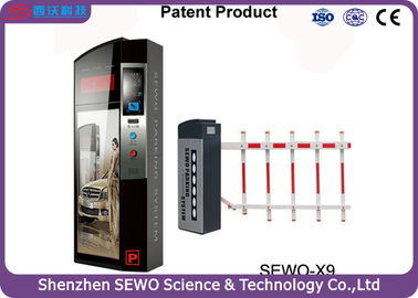 China SEWO X9 Automatic Barcode Ticket Payment Intelligent Car Parking Management System distributor