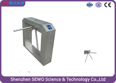 China 304#  Stainless Steel Tripod Turnstile Gate  RFID Turnstile Gate system distributor