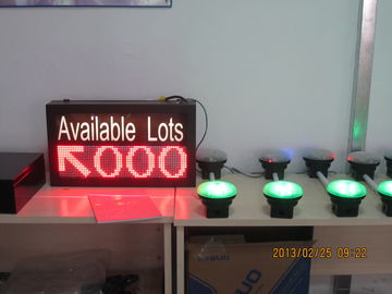 China Vehicle LED Parking Guidance and Information System Availability Indicator LED Display distributor