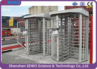 High Quality Brushless Motor Single Channel Security Full Height Turnstile with RFID Card Reader